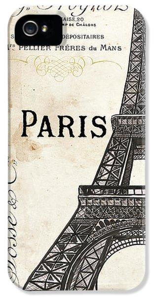 Paris, Ooh La La 1 IPhone 5 Case by Debbie DeWitt
