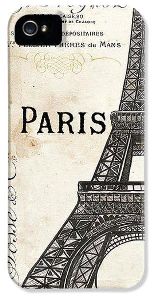 Eiffel Tower iPhone 5 Case - Paris, Ooh La La 1 by Debbie DeWitt