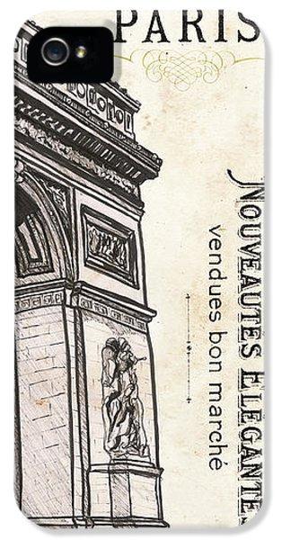 Paris, Ooh La La 2 IPhone 5 Case by Debbie DeWitt