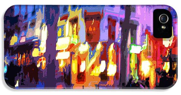 Paris Quartier Latin 02 IPhone 5 Case
