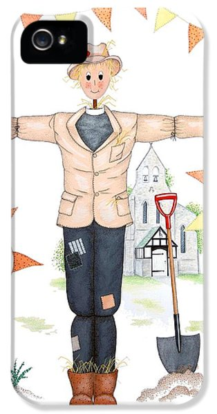 Parson Scarecrow IPhone 5 Case by Sandra Moore