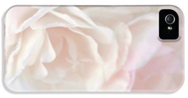 Pastel Rose Flowers IPhone 5 Case by Jennie Marie Schell