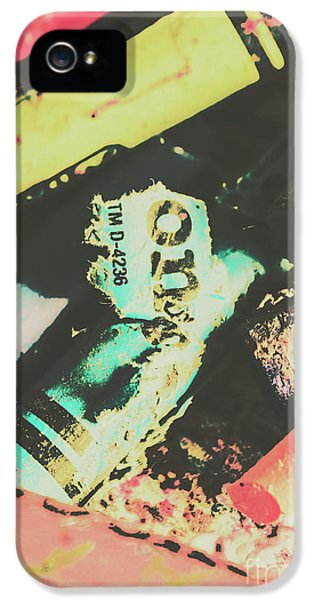 Damage iPhone 5 Case - Pastel Toned Crayons by Jorgo Photography - Wall Art Gallery