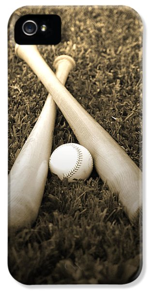 Softball iPhone 5 Case - Pastime by Shawn Wood