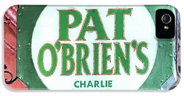 IPhone 5 Case featuring the photograph Pat Obriens by JC Findley