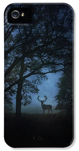 Magician iPhone 5 Case - Path Of Shadows by Cambion Art