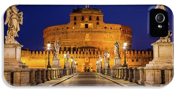 Pathway To Sant'angelo IPhone 5 Case by Inge Johnsson