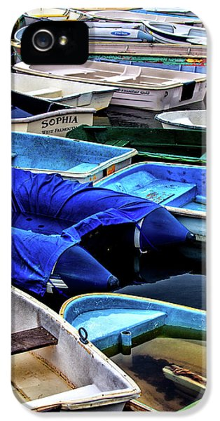 Patiently Waiting Dinghies IPhone 5 Case