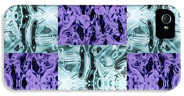 iPhone 5 Case - Ultra Violet  And Water  by Naomi Ibuki