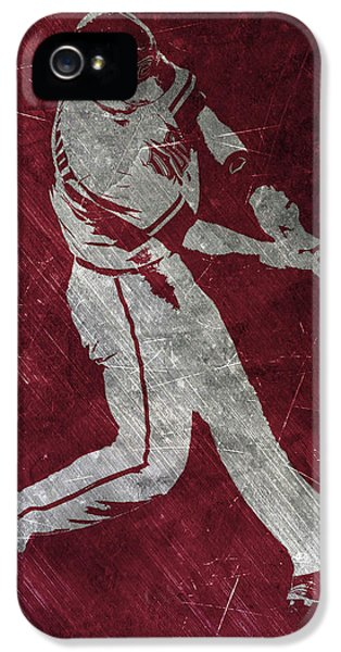 Paul Goldschmidt Arizona Diamondbacks Art IPhone 5 Case by Joe Hamilton