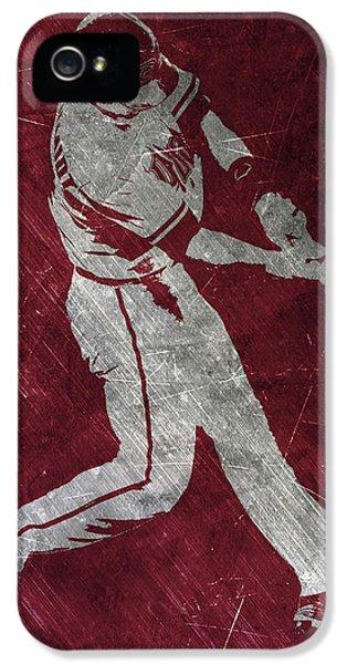 Paul Goldschmidt Arizona Diamondbacks Art IPhone 5 Case by Joe Hamilton