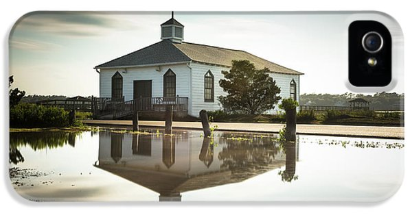 Pawleys Chapel Reflection IPhone 5 Case by Ivo Kerssemakers