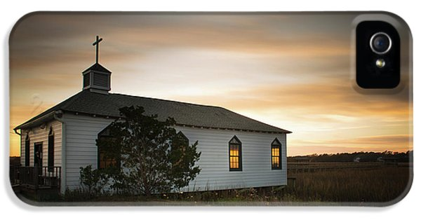 Pawleys Chapel Sunset IPhone 5 Case by Ivo Kerssemakers