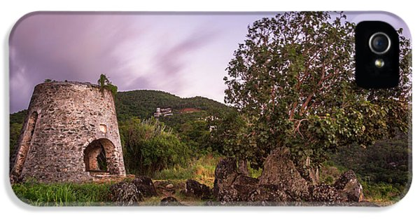 IPhone 5 Case featuring the photograph Peace Hill Ruins by Adam Romanowicz