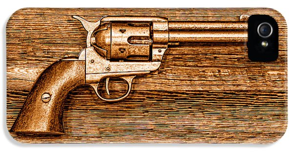 Peacemaker - Sepia IPhone 5 Case by Olivier Le Queinec