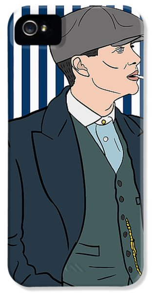 Peaky Blinders IPhone 5 Case by Nicole Wilson