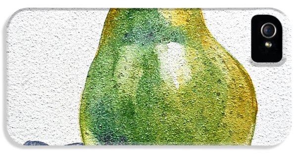 Pear IPhone 5 Case by Irina Sztukowski
