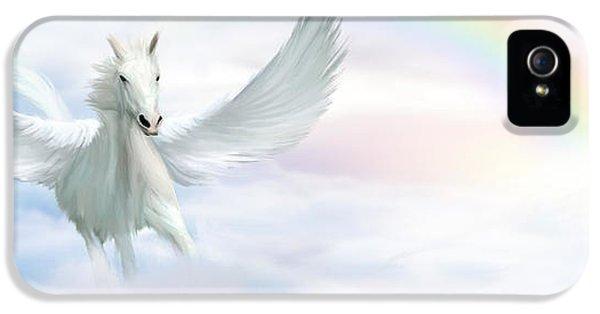 Pegasus IPhone 5 Case by John Edwards