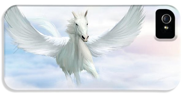 Pegasus iPhone 5 Case - Pegasus by John Edwards