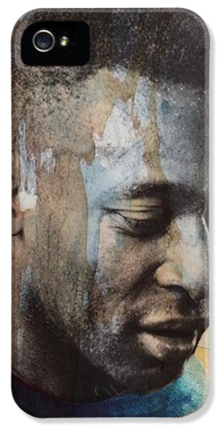 Legends iPhone 5 Case - Pele  by Paul Lovering