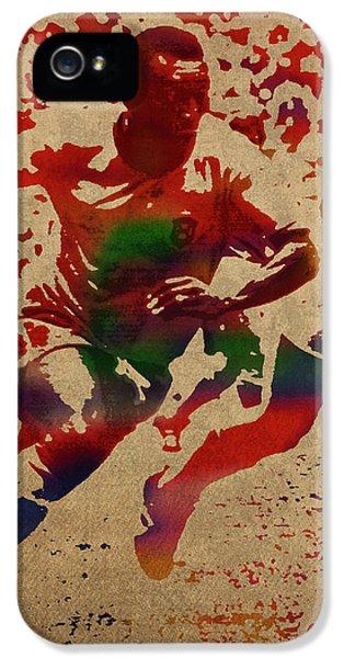 Pele Watercolor Portrait IPhone 5 Case