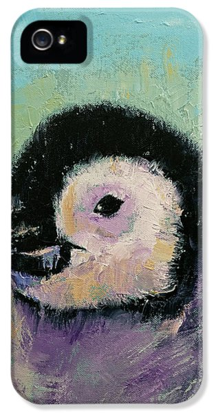 Penguin Chick IPhone 5 / 5s Case by Michael Creese