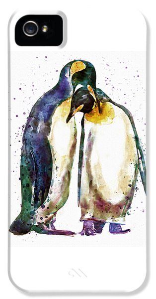 Penguin Couple IPhone 5 / 5s Case by Marian Voicu