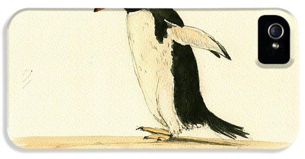 Penguin Walking IPhone 5 Case