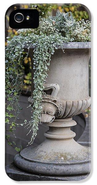 Penn State Flower Pot  IPhone 5 Case by John McGraw