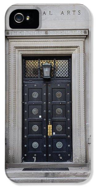 Penn State University Liberal Arts Door  IPhone 5 Case by John McGraw
