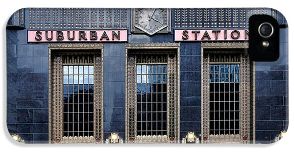 Pennsylvania Railroad Suburban Station IPhone 5 Case by Olivier Le Queinec