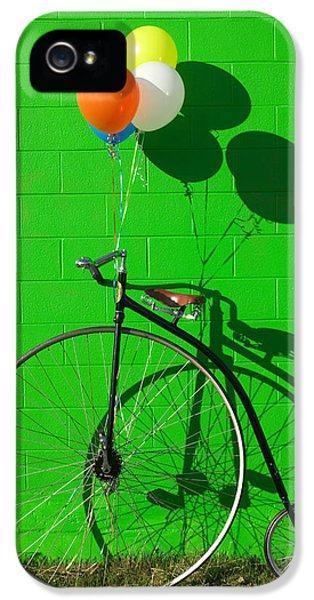 Penny Farthing Bike IPhone 5 Case by Garry Gay