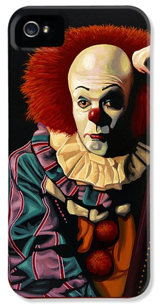 Pennywise IPhone 5 Case by Paul Meijering