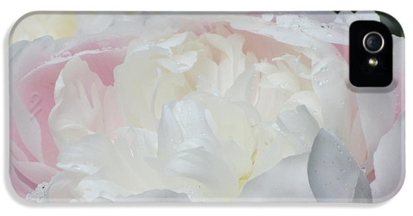 IPhone 5 Case featuring the photograph Peony by Karen Shackles