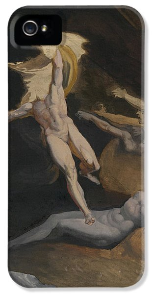 Perseus Slaying The Medusa IPhone 5 Case by Henry Fuseli