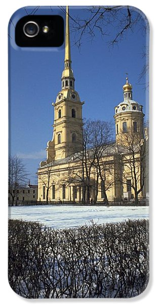 Peter And Paul Cathedral IPhone 5 Case