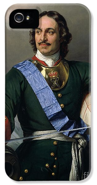 Peter I The Great IPhone 5 Case by Delaroche