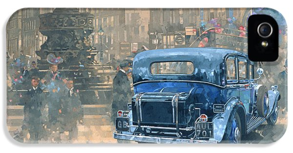 Phantom In Piccadilly  IPhone 5 Case by Peter Miller