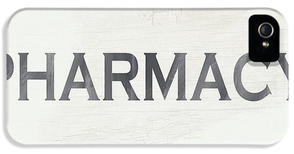 Pharmacy Sign- Art By Linda Woods IPhone 5 Case by Linda Woods