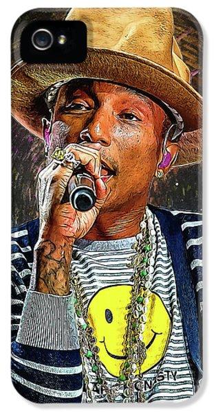 Jay Z iPhone 5 Case - Pharrell Williams by Semih Yurdabak