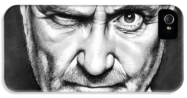 Phil Collins IPhone 5 Case by Greg Joens