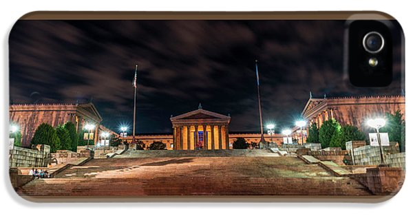 Philadelphia Museum Of Art IPhone 5 Case by Marvin Spates