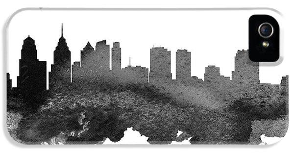 Philadelphia Pennsylvania Skyline 18 IPhone 5 / 5s Case by Aged Pixel