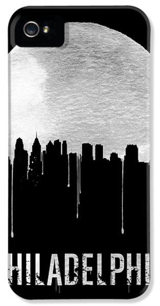 Philadelphia Skyline Black IPhone 5 Case