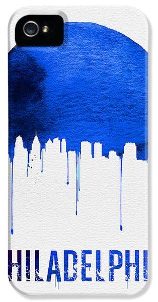 Philadelphia Skyline Blue IPhone 5 Case