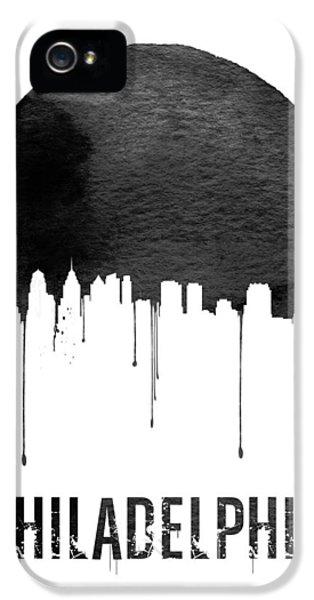 Philadelphia Skyline White IPhone 5 Case