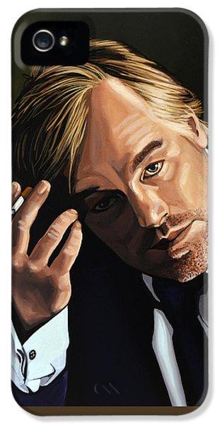 Philip Seymour Hoffman IPhone 5 Case by Paul Meijering