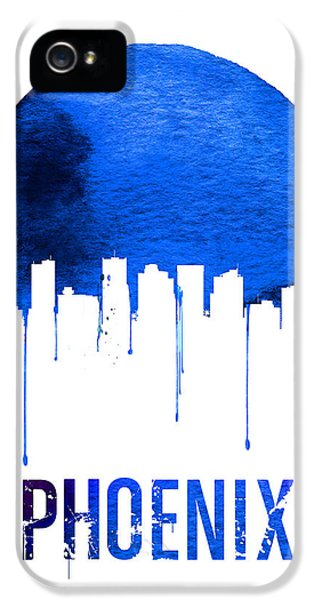 Phoenix Skyline Blue IPhone 5 Case