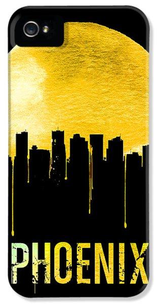 Phoenix Skyline Yellow IPhone 5 Case