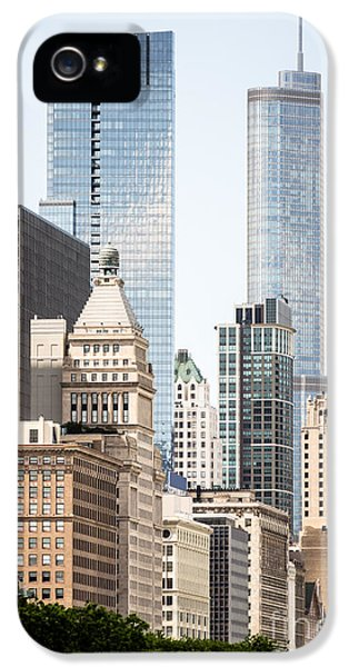 Photo Of Chicago Buildings Along Michigan Avenue IPhone 5 Case